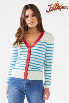 Joe Browns Nautical Striped Cardigan