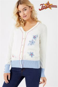 Joe Browns Button Up Embroidered Cardigan