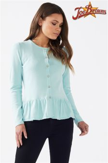 Joe Browns Womens Peplum Cardigan