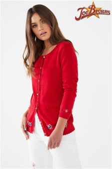 Joe Browns Embroidered Butterfly Motif Cardigan