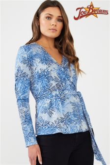Joe Browns Long Sleeve Wrap Top