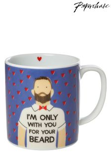 Paperchase For Your Beard Valentines Mug