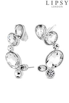 Lipsy Crystal Mis Shape Ear Cuff