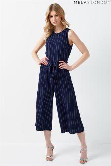 Mela London Pin Stripe Jumpsuit