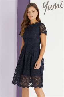 Yumi Guipure Lace Dress