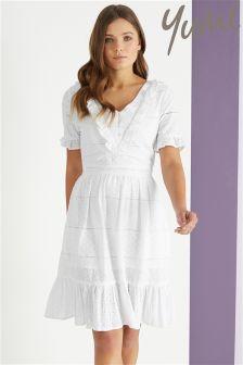 Yumi Frill Seam Dress