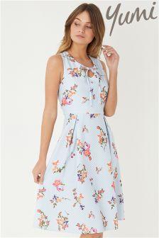 Yumi French Stripe Prom Dress