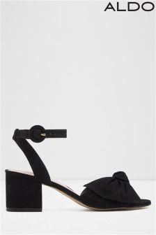 Aldo Bow Detail Block Heels