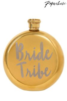 Paperchase Wedding Bride Tribe Hip Flask