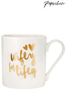 Paperchase Wifey For Lifey Mug