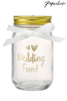 Paperchase Wedding Fund Jar