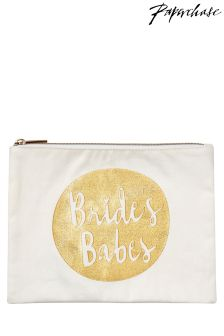 Paperchase Wedding Brides Babes Pouch