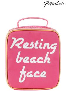 Paperchase Resting Beach Face Lunch Bag
