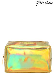 Paperchase Iridescent Cosmetic Case
