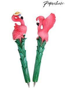 Paperchase Flamingo novelty pen - lucky dip