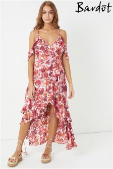 Bardot Printed Frankie Frill Dress