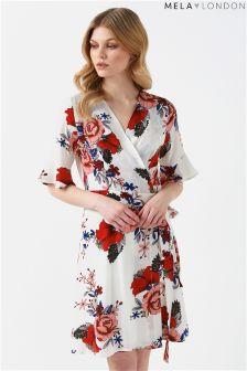 Mela London Wrap Dress