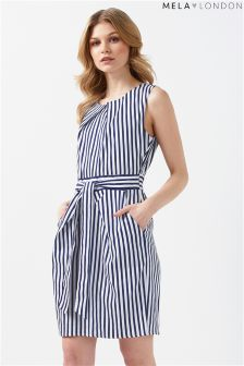 Mela London Tulip Striped Dress