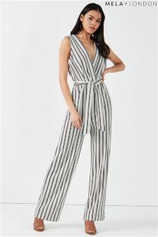 Mela London Striped Jumpsuit
