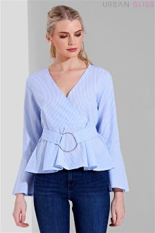 Urban Bliss Camelia O-ring Stripe Top