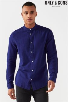 Only & Sons Thomas Long Sleeves Melange China Shirt