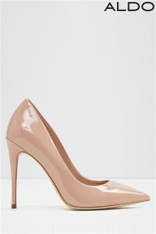 Aldo High Heel Wide Fit Pointed Courts