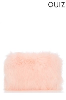 Quiz Faux Fur Bag