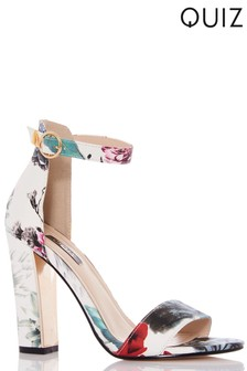 Quiz Barely There Stiletto Sandals