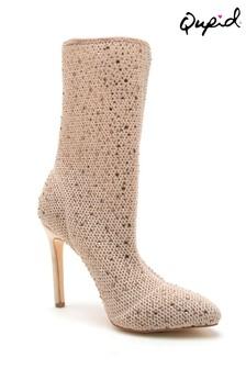 Qupid Embellished Boots