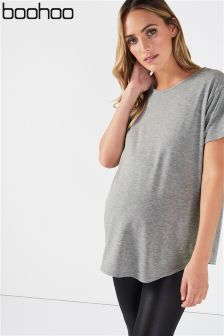 Boohoo Maternity Strappy Back T-Shirt