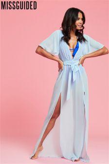 Missguided Kimono Maxi Dress