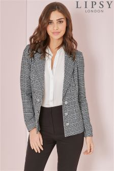 Lipsy Tailored Dogstooth Blazer
