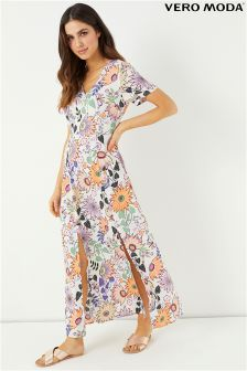Vero Moda Petite Floral Print Maxi Dress