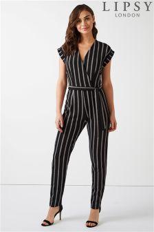 Lipsy Stripe Jumpsuit