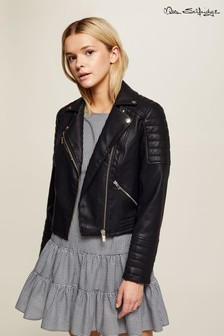 Miss Selfridge PU Biker Jacket