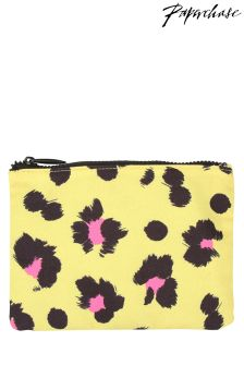 Paperchase Safari Summer Leopard Print Pouch