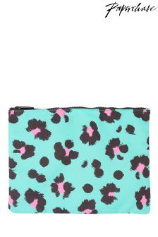 Paperchase Safari Summer medium printed pouch