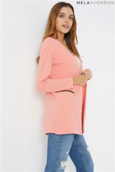 Mela London Two Zip Cover Up Jacket