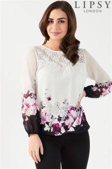 Lipsy Floral Printed Blouse
