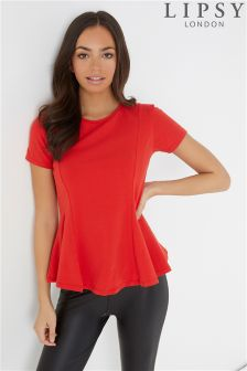 Lipsy Peplum Top