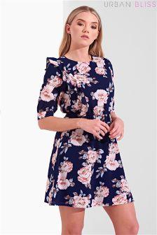 Urban Bliss Faith Ruffle Side Dress