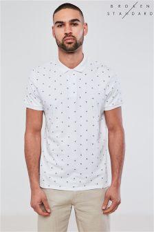 Broken Standard All Over Print Polo Shirt
