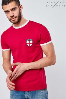 Broken Standard Short Sleeve England T-Shirt