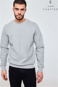 2nd Chapter Quilted Crew Neck Jumper