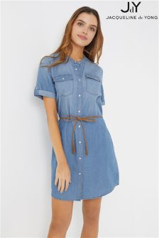 JDY Belted Shirt Dress
