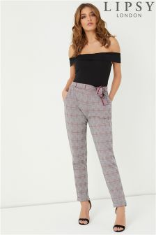 Lipsy Check Trousers