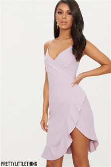 PrettyLittleThing Frill Dress
