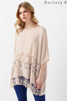 Society 8 Knitted Batwing Jumper