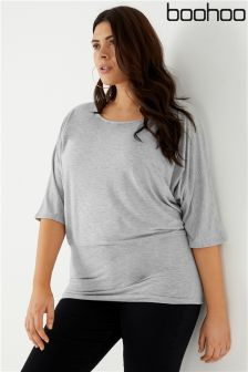 Boohoo Plus Batwing Top