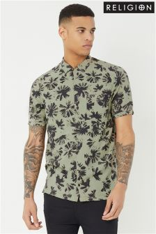 Religion Printed Shirt
